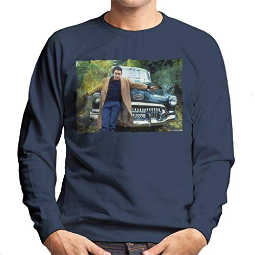 TV Times Jools Holland by A Classic Car Men's Sweatshirt Navy Blue