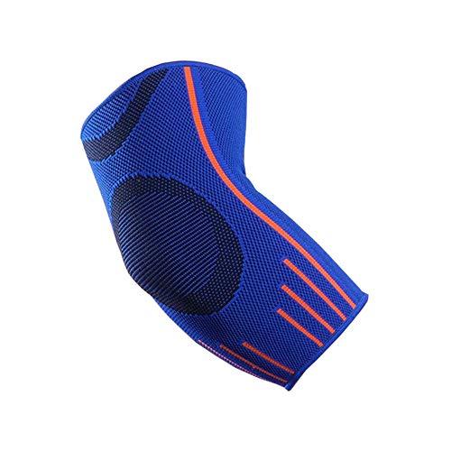 VITTO Coderas Epicondilitis para Hombre y Mujer, Coderas Deportiva para Crossfit, Tendinitis, Codo Golfista y Codo Tenista (L, Azul)