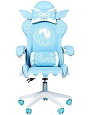 360 ° roterande spelstol Ergonomisk kontorsstol Datorstolar för vuxna Video Gaming Chair Office