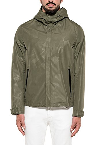 Uomo Poliestere Giacca Verde Woolrich Outerwear Wocps2637em036507 EYgqC