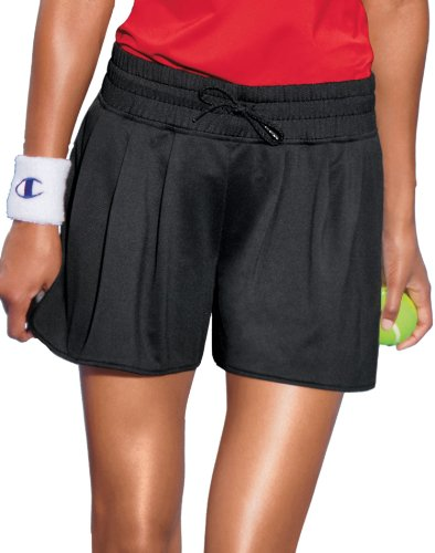 Champion Women`s Double Dry® Fem Pleated Athletic Shorts