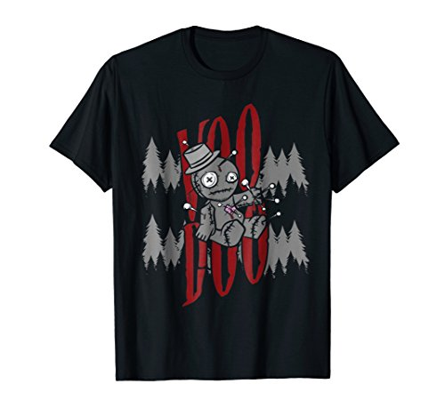 Halloween Voodoo Shirt Doll Costume Gift Scary Karma