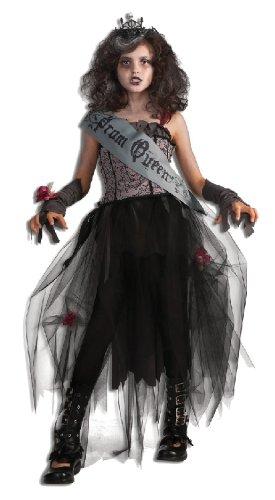 Halloween Kleider Fur Kinder.Rubie S Halloween Kinder Kostum Gothic Prom Queen Konigin Kleid Grosse S