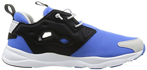 Reebok Furylite - Zapatillas de running Hombre Azul / Negro / Blanco / Rojo (Echo Blue/Black/Steel/White/Excellent Re)