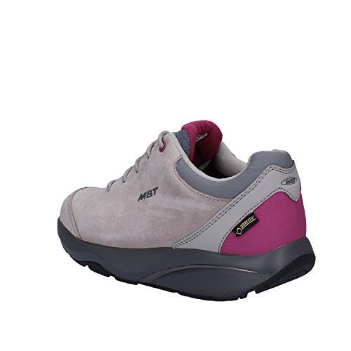 MBT Sneakers Mujer 37 EU Gris Nubuck (Cuero)