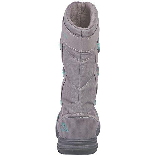 Mint 1637 Boots Husky Bootees Women's Shaft Kappa Short Warm Grey Lined and Grey x76BqAUw