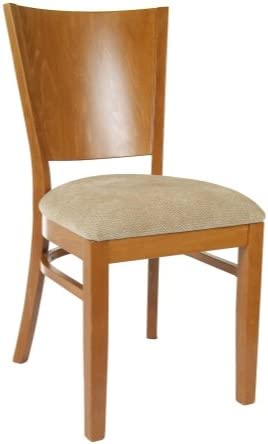 Beechwood Mountain BSD-86S-C Solid Beech Wood Side Chairs in Cherry for Kitchen and dining, set of 2