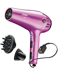 Conair 1875 Watt Cord-Keeper Hair Dryer; Pink