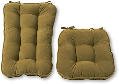 Charmant Amazon.com: Greendale Home Fashions Jumbo Rocking Chair Cushion Set Hyatt  Fabric, Moss: Home U0026 Kitchen