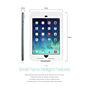 FAVOLCANO Waterproof Protective Case Cover for iPad Mini / iPad Mini 2 / iPad mini 3 / iPad Mini Retina