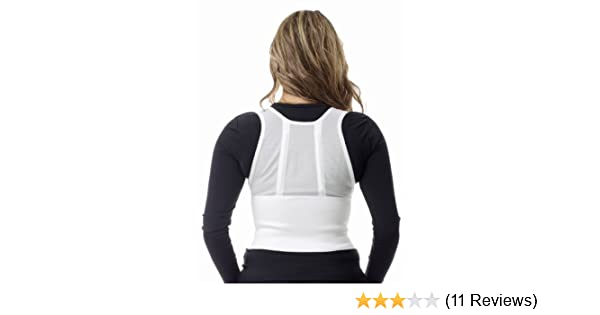 26bbfbc534ec0 Amazon.com  Underworks Women s Posture Corrector and Trainer Cincher and  Back Support Brace - Bra Size-32  Health   Personal Care