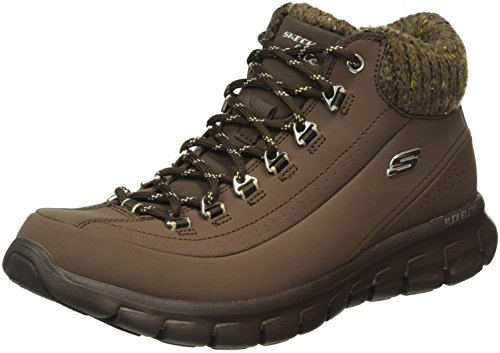 Baskets Sportives Choc Skechers Brown SKEES Winter Nights Femme Synergy wq4qxBFOfI
