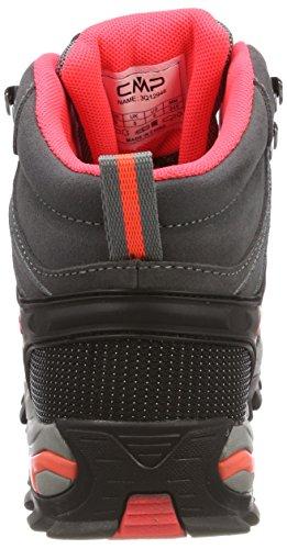 Grey Campagnolo Rigel Gris 46ak Randonnée Chaussures de Femme red High Fluo Rise CMP zgwdqgS