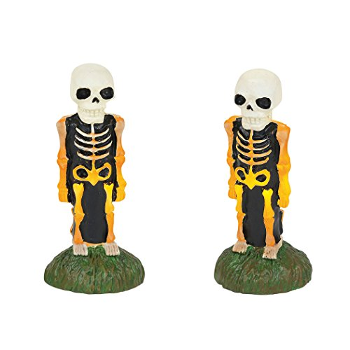 Department 56 Halloween Accessories Collections Lit Skeleton Yard