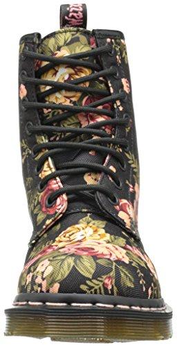 militares Flowers 1460 Botas Victorian color Beige Dr Negro Martens wFqaUaf