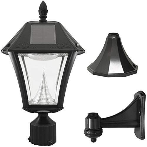Gama Sonic Pagoda Solar Lamp in US - 8