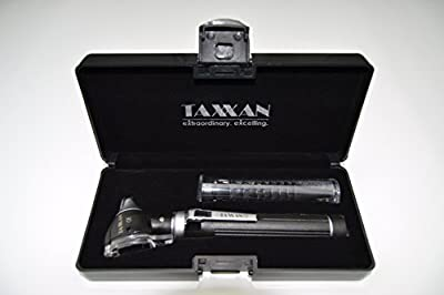 Taxxan Led Pocket Fiber Optic Otoscope Set Ent Diagnostic Kit With Adult, Child, Infant Specula Tips