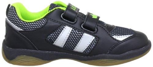 Lico Indoor V 360329 - Zapatos de cordones para niño Negro (SCHWARZ/GRUEN)