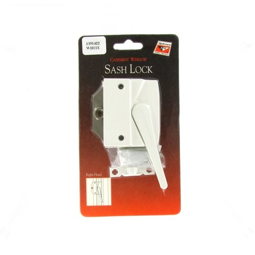 (Andersen® #7191-32 Sash Lock & Keeper (Right Hand) in White (1974 to 1995))
