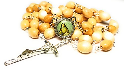 3rd class relic rosary of Saint Monica Difficult marriages disappointing children victims of adultery or unfaithfulness victims of abuse conversion Santa Mónica de Hipona Madres y esposas - Monica 3rd Santa