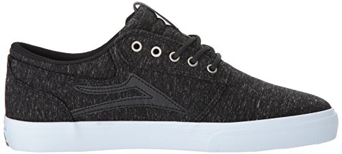 Lakai Griffin Skate Schuh Schwarzes Textil