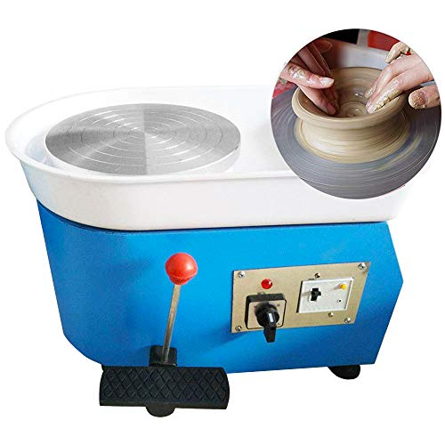 (Pottery Forming Machine, PROMOTOR 9.8'' Table Top Pottery Wheel Ceramics Clay Tool for Ceramic Work Ceramics Clay 110V)