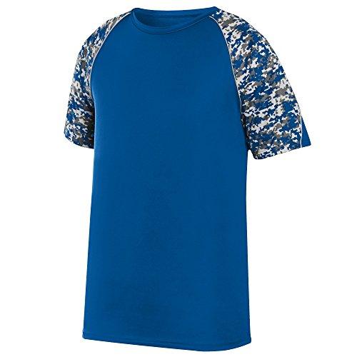 Nice Augusta Sportswear Boys' Color Block Digi Camo Jersey hot sale