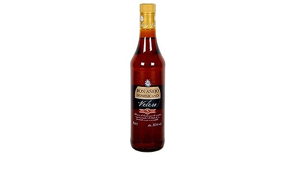 VELERO ron añejo 5 años botella 70 cl: Amazon.es ...