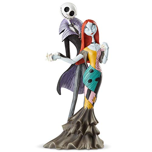 Jack And Sally Wedding (Enesco Disney Showcase Couture de Force Jack and Sally Deluxe Figurine, 8.74 Inch,)