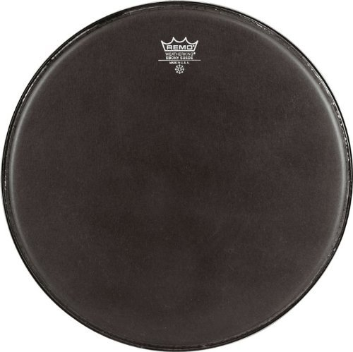 Remo ES0813MP Black Suede Emperor Crimplock Marching Tenor Drum Head, 13-Inch Remo Inc.