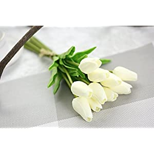 SHSYCER 20pcs Tulip Flower Home Garden Hotel Party Event Christmas Wedding Gift Decoration Artificial Flowers Nearly Natural 2
