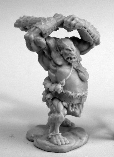 Reaper Miniatures Ogre Clubber #77454 Bones Plastic D&D RPG Mini Figure