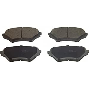 wagner thermoquiet qc1179 ceramic disc pad set. Black Bedroom Furniture Sets. Home Design Ideas