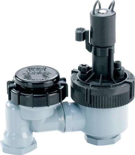 Toro 53763 3/4-Inch Anti-Siphon Jar Top Underground Sprinkler System Valve with Flow (Anti Siphon Control)