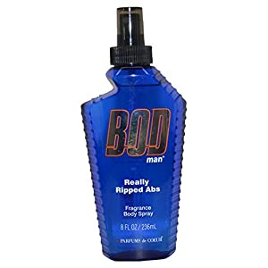 Parfums De Coeur Bod Man Really Ripped Abs Fragrance Body Spray, 8 Ounce