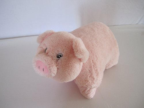 Pig Zoopurr Pets 2-in-1 Stuffed Animal and Pillow Large 19