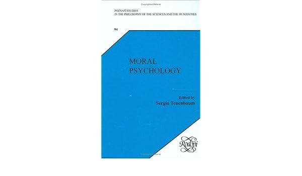 moral psychology tenenbaum sergio