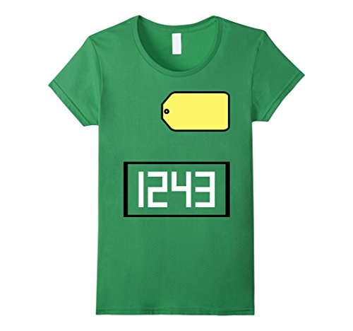 Womens Game Show Group Halloween Costume T-Shirt Small Grass (Unique Halloween Costumes On A Budget)