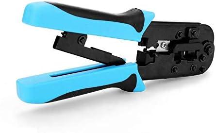 Zimaes Steel HT-N568R Network Hardware Tool Crimping Tool Professional Heavy Duty Plier Set Function