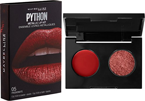 Maybelline Lip Studio Python Metallic Lip Kit, Passionate