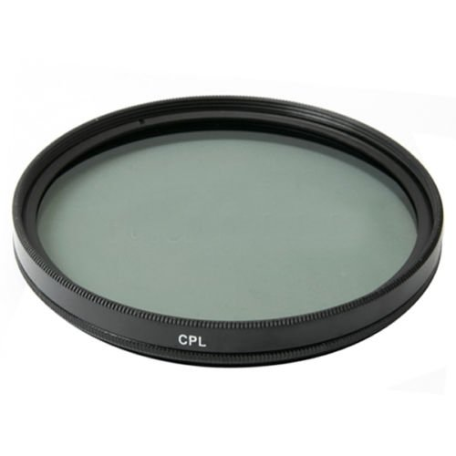 New 58mm Circular Polarizing CPL C-PL Filter Lens Protector for Canon Rebel 18-55mm