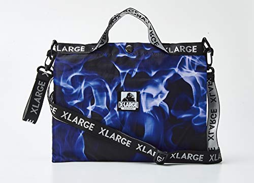 XLARGE 3WAY BLUE FIRE BAG BOOK 画像 B