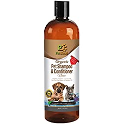 Pet Diesel Hot Spot Pet Shampoo & Conditioner with Neem Oil for Dogs and Cats | Organic For Itch Free, Dry Skin, Preventative & Relief, Pest Free For Pet Shiny Healthy Hair & Coat 17 Oz by