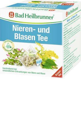 Bad Heilbrunner Nieren und Blasen / Kidney and Bladder Tea 15 x 2g (2-Pack) ()
