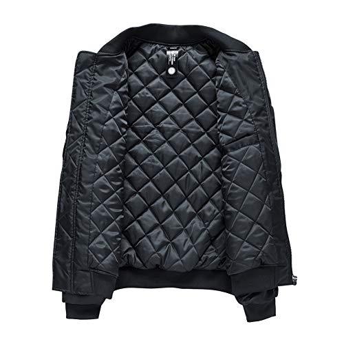 Hip Bomber Printemps Automne Hop Jacket Hommes Et Loose Sunny M Loose Noir xq0fBOnawa