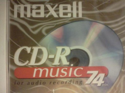Maxell 1-pack CDR Media 74min- for Audio only