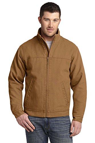 Washed Duck Work Flannel (CornerStone Washed Duck Cloth Flannel-Lined Work Jacket – 100% Cotton - Medium)