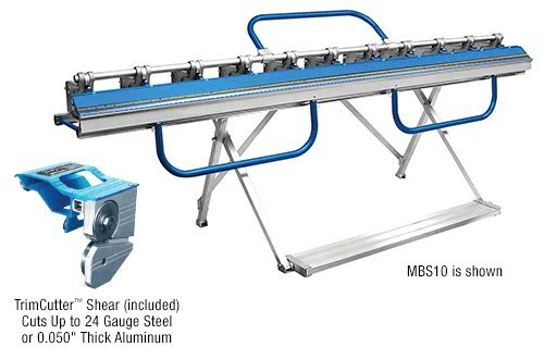 MBS6 - CRL 6' Metal Brake and Shear