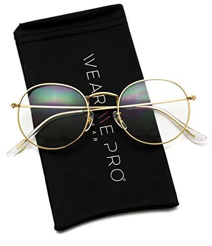 WearMe Pro - Retro Clear Circle Round Metal ()