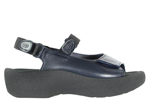 Leather 30800 Sneaker donna Wolky Dark Blue pOx0qnwR
